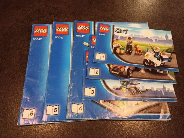 Lego 60047 komisariat policji komplet pudełko instrukcje
