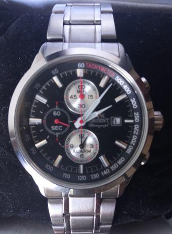 """Relógio Orient cronógrafo com alarme """"NOVO"""""""
