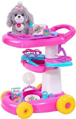 Just Play Barbie тележка Барби набор доктора уход за животными Pet Car
