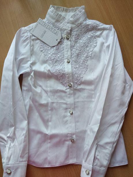 Новая блузка зиронька zironka 134р-р