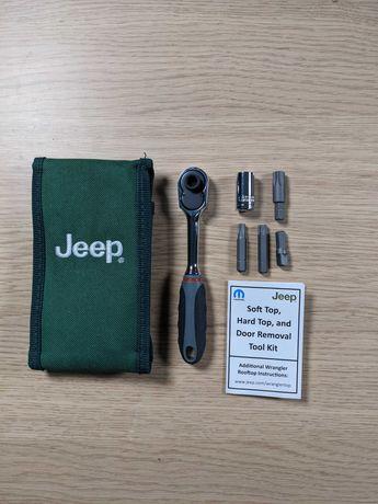 Jeep Wrangler оригинальный набор для снятия крыши и дверей из США