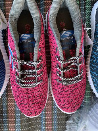 Женские кроссовки. 250 грн пара! Розовые, синие. Обувь недорого,
