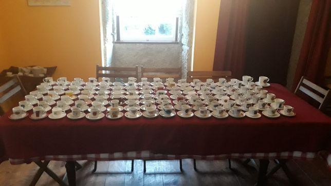 Colecção de chávenas