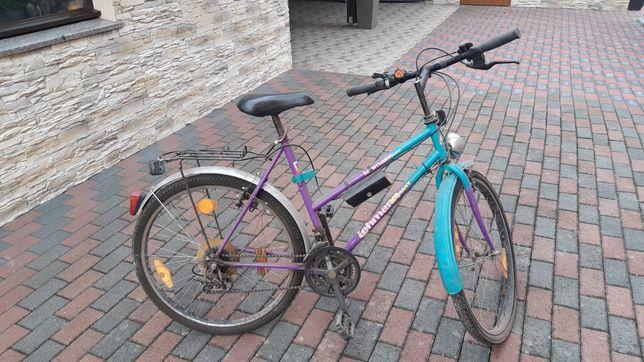 Rower górski damski 26 cali nowe opony/siodełko