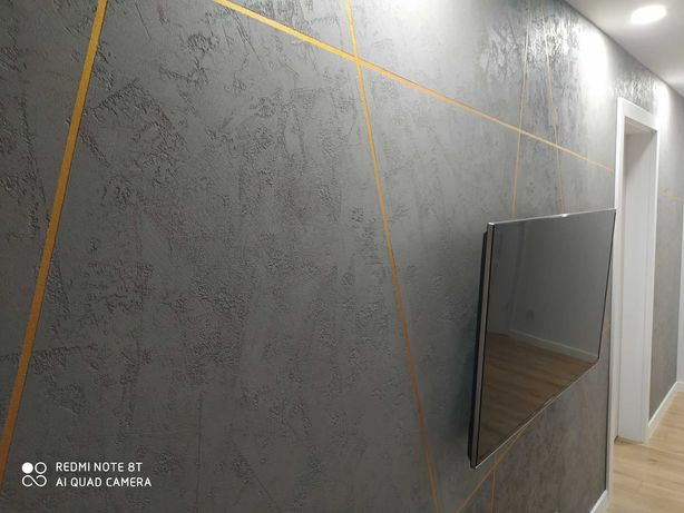 Tynk dekoracyjny efekt BETON SILVENO 8m2
