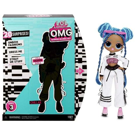 L.O.L. Surprise! O.M.G. Series 3 Chillax Fashion Doll оригинал
