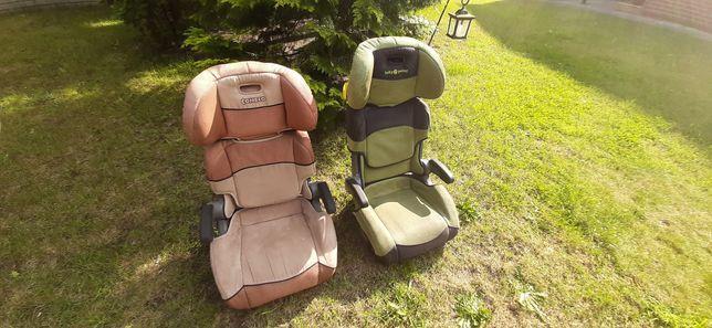 Foteli dziecięce samochodowe 2 sztuki