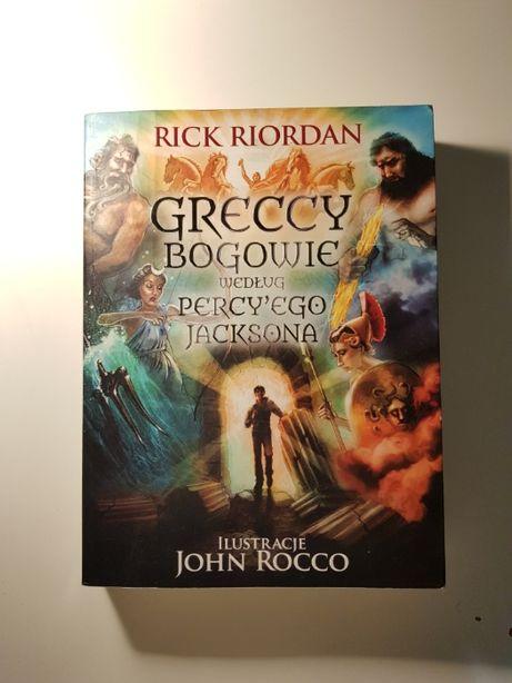 Greccy Bogowie według Percy'ego Jacksona Rick Riordan