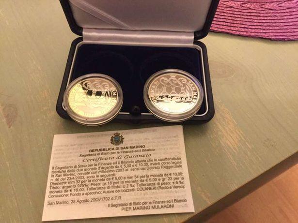 Sprzedam piękne monety srebrne upamiętniające Olimpiadę