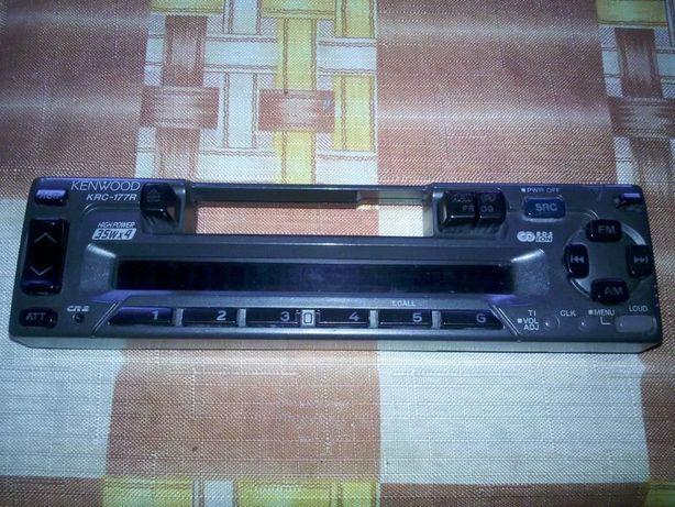 Radiomagnetofon samochodowy kasetowy firmy KENWOOD KRC-177R . 4X35W