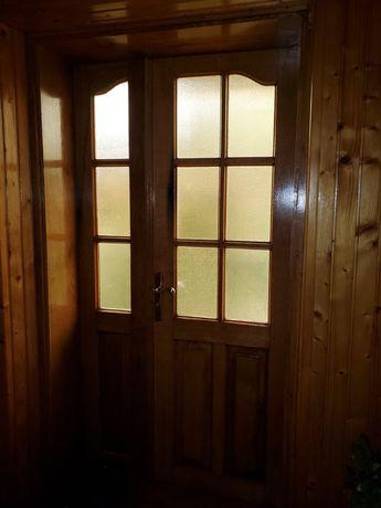 Двері дубові б/у