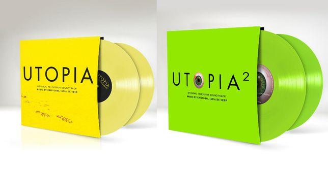Utopia 1 & 2 Soundtrack Ost Color Vinyl Limited Soundtrack