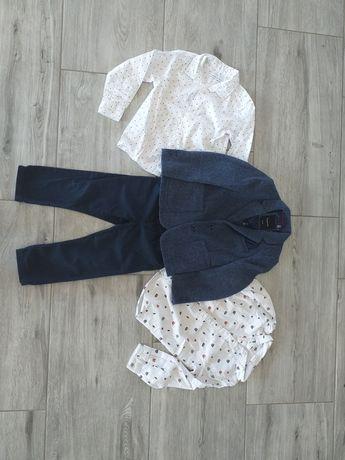 Komplet koszula h&m spodnie next marynarka reserved ślub wesele