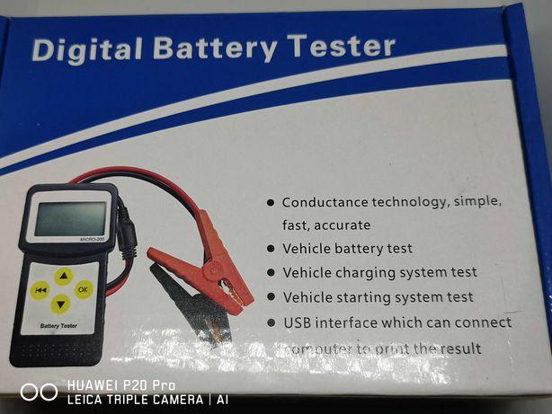 Cyfrowy tester akumulatorów MICRO-200