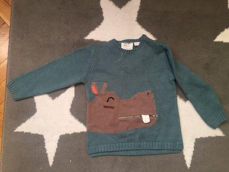 Zara sweterek rozmiar 104cm sweter