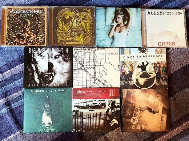 Lote de 10 CDs - Hardcore/Metalcore (Portes Grátis)