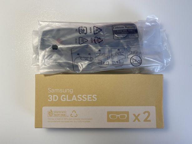 Okulary 3D aktywne Samsung baterie nowe