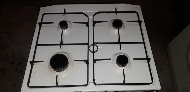 Conjunto  placa a gas e forno elétrico
