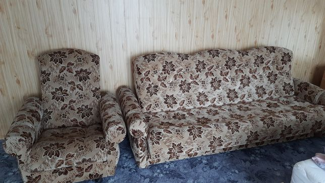 Wersalka + 2 fotele
