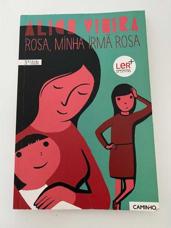 Livro Rosa, minha irmã Rosa - Alice Vieira (6º ano)