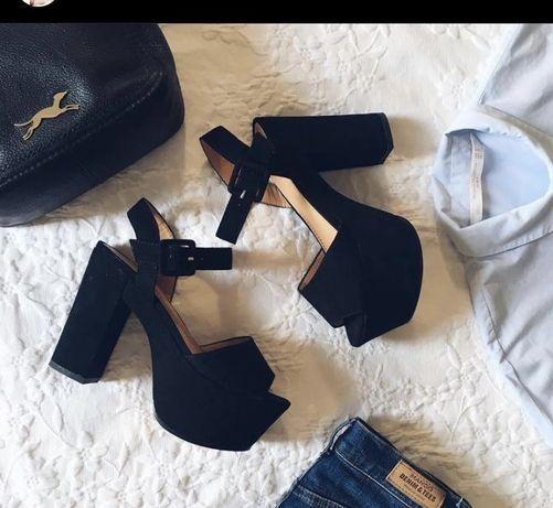 Sandálias Compensadas Parfois