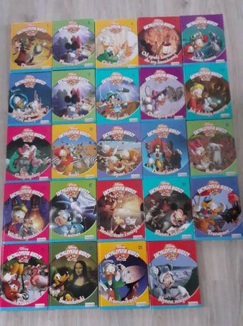 encyklopedia wiedzy Disney-24 szt,.