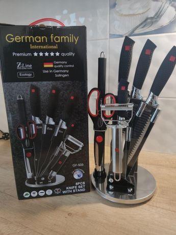 Красивый набор ножей с подставкой! Подарочный для профессионала!