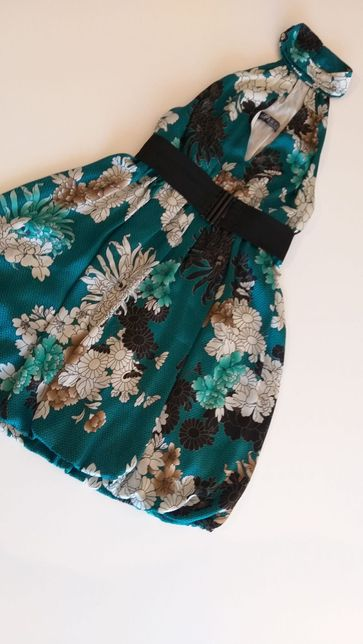 Vestido floral zara