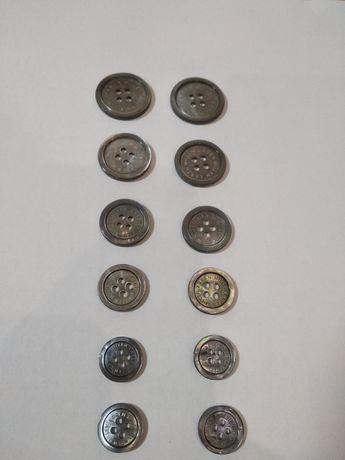 Пуговицы брендированы от KAREN MILLEN,12шт,150грн