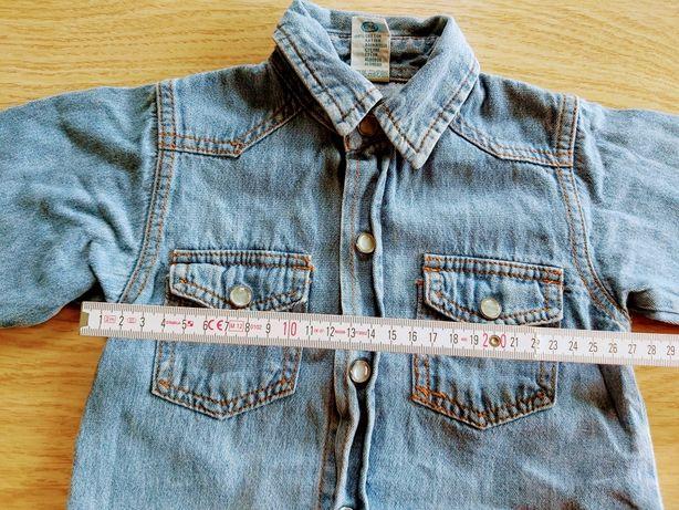 Koszula jeansowa dla dzieci C&A 86
