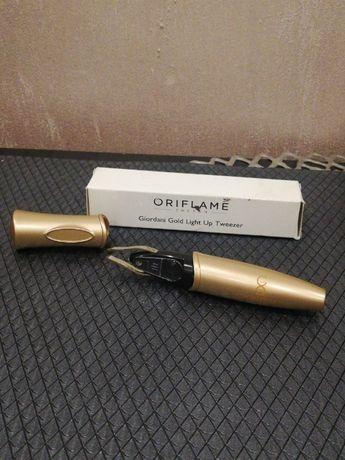 Oriflame PĘSETA podświetlana z lupą Giordani Gold