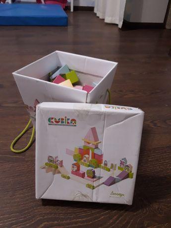 Cubika кубика конструктор городок для девочек