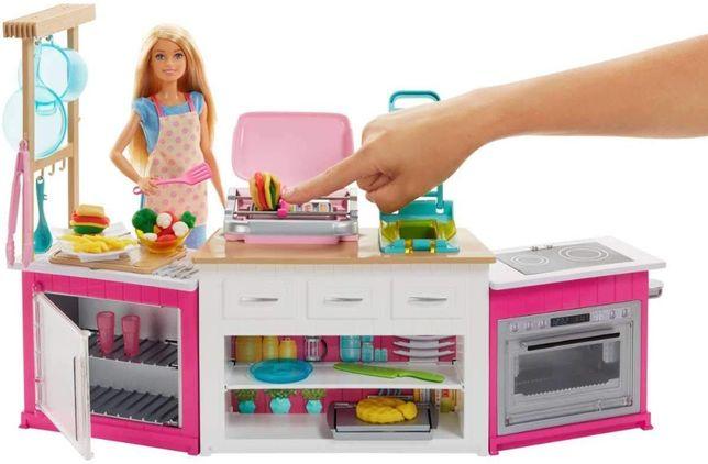 Большой набор Барби кухня Готовим вместе свет звук Barbie Оригинал