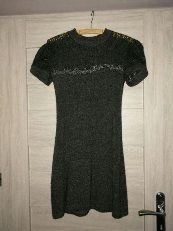 Sukienka ocieplana