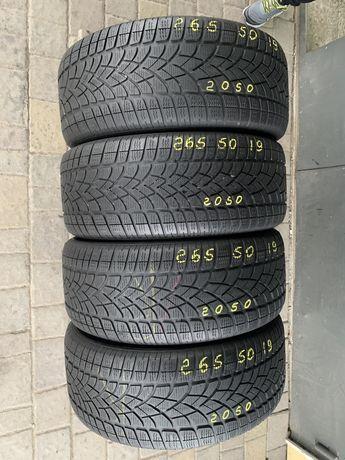 Шини резина 265/50r19 Dunlop 6mm зима зимние