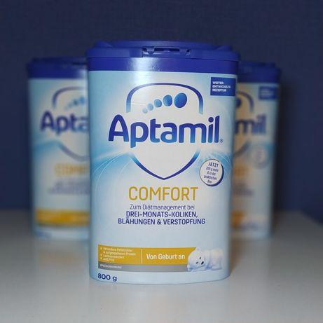Детская смесь Aptamil comfort Германия с расщепленным белком от колик