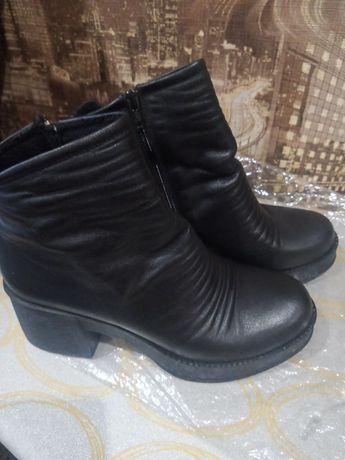Ботиночки кожаные 40 размер