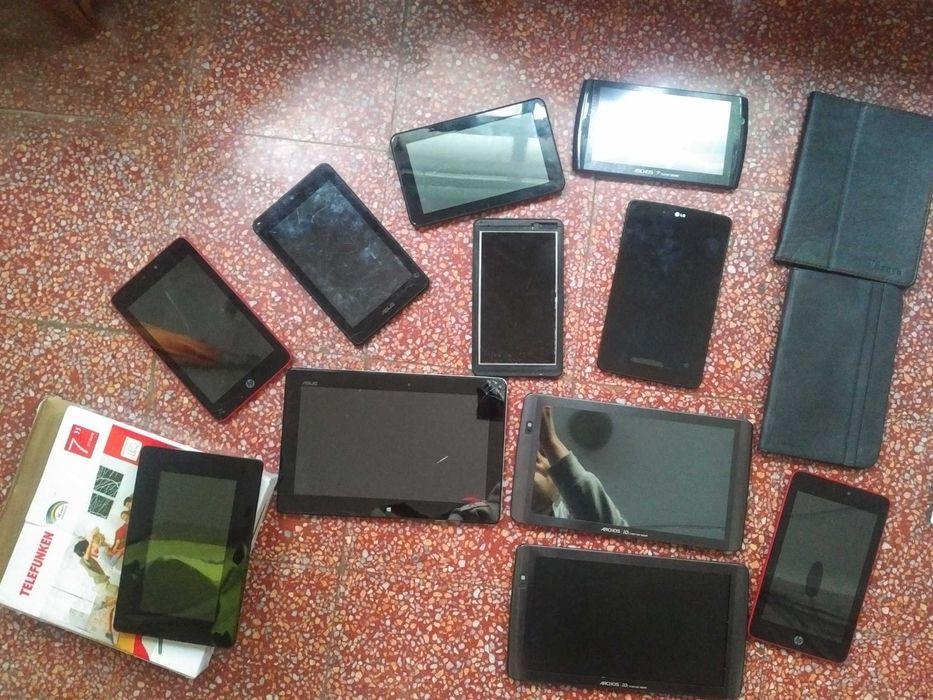 Lote 11 tablets para peças Cascais - imagem 1
