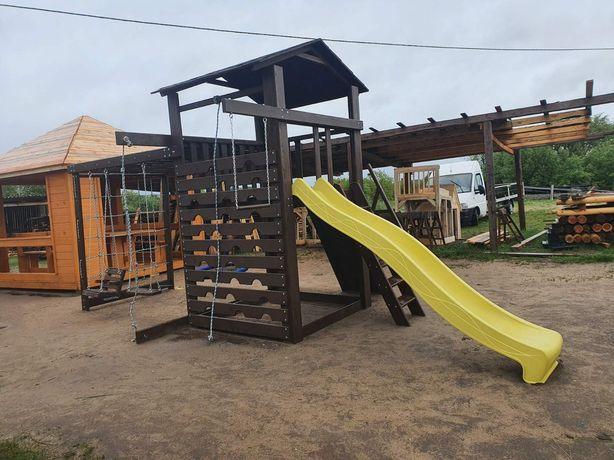 Дитячий ігровий майданчик з гойдалкою Гніздо Аіста