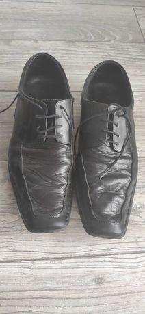 Buty męskie, galowe, 42 rozmiar