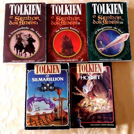 JRR Tolkien - Senhor dos Anéis / Hobbit / Silmarillion Anos 80