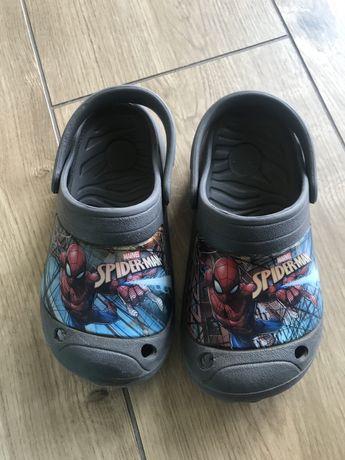 Crocsy klapki dziecięce spiderman