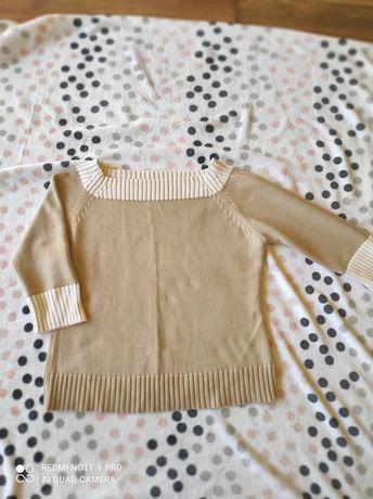 Beżowy damski sweterek