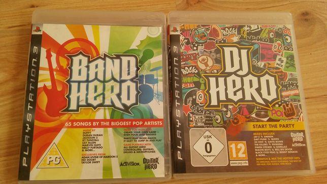 Ps3 gra Band hero ,Dj hero