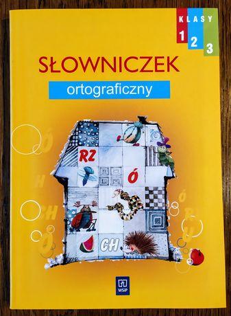 Wesoła szkoła 1-3 Słowniczek ortograficzny WSiP