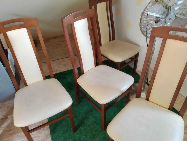 Krzesła drewniane 4 szt
