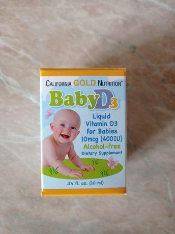 Детский витамин baby D3