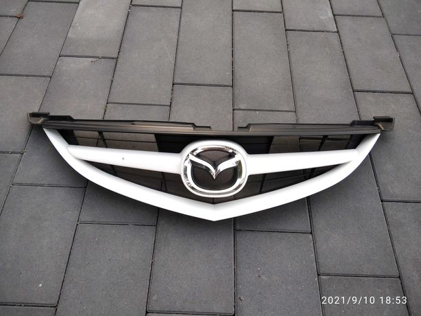 Mazda 6 II GH Sport 09-12 Grill Atrapa Przód Maskownica