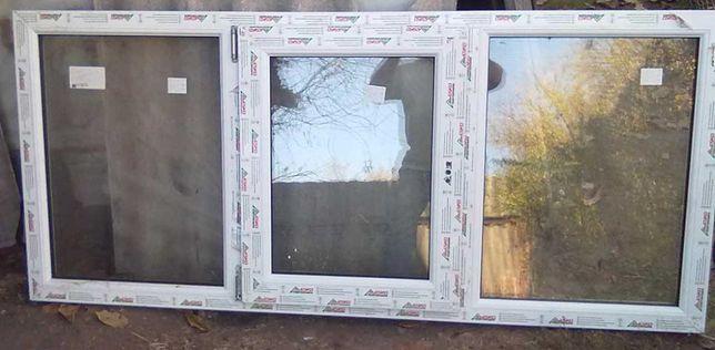 Окна металопластиковые новые