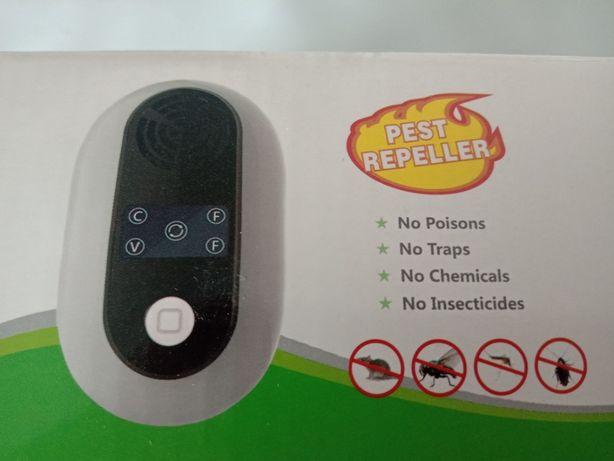 Odstraszacz na komary, myszy, muchy, insekty < 5W